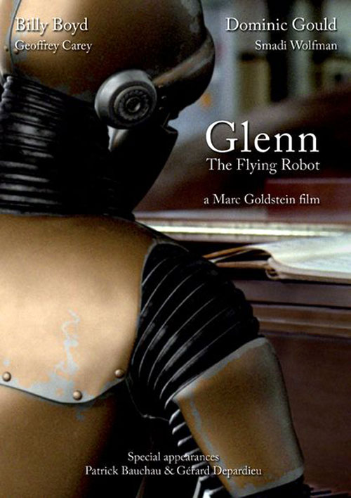 Unknown poster from the movie Glenn, the Flying Robot (Glenn 3948)