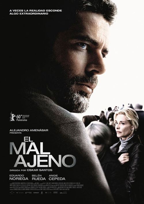 Spanish poster from the movie For the Good of Others (El mal ajeno)