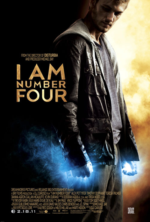 Us poster from the movie I Am Number Four