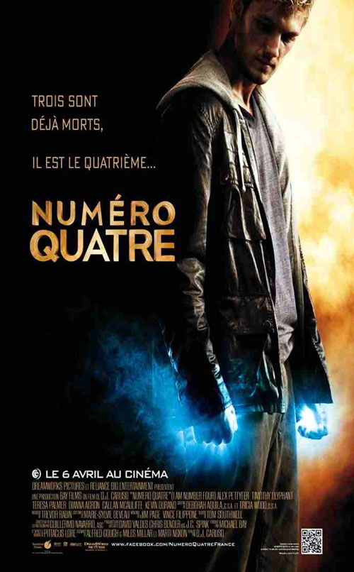Movie posters from I Am Number Four - D.J. Caruso (2011 ... I Am Number Four Movie Poster