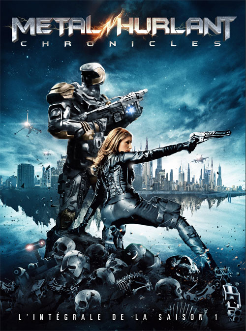 Affiche française de 'Metal Hurlant Chronicles'