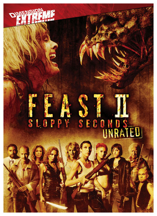 Us poster from the movie Feast II: Sloppy Seconds
