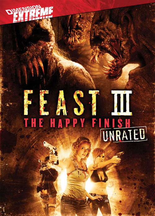 Affiche américaine de 'Feast III: The Happy Finish'