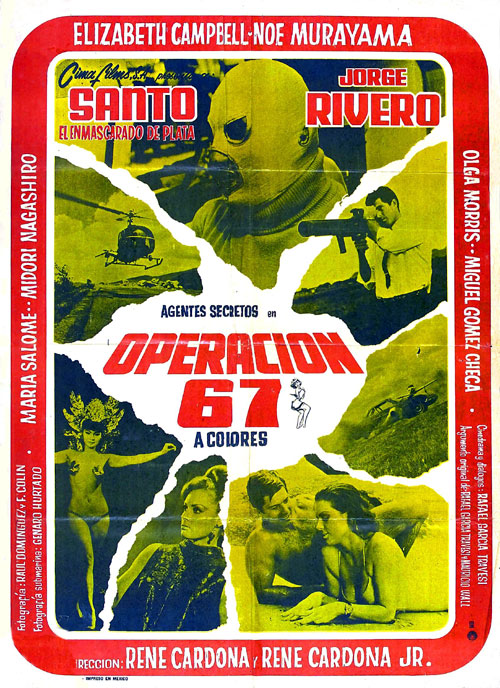 Unknown poster from the movie Operación 67