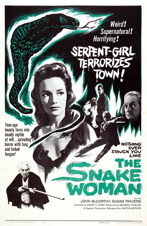 Us poster from the movie The Snake Woman