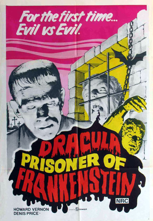 Us poster from the movie Dracula Against Frankenstein (Drácula contra Frankenstein)
