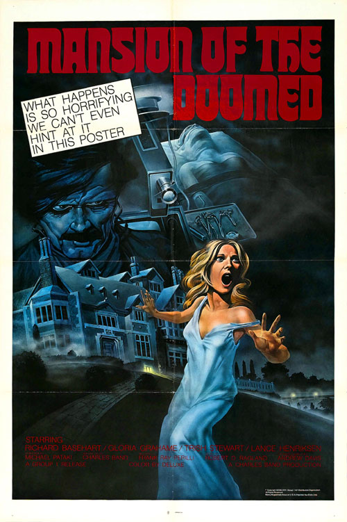 Us poster from the movie Mansion of the Doomed