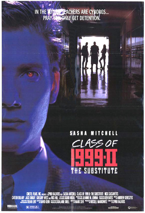 Us poster from the movie Class of 1999 II: The Substitute