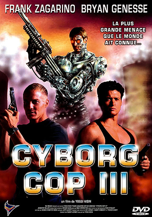 Unknown artwork from the movie Cyborg Cop III