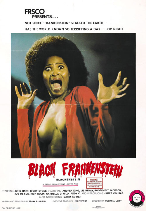 Us poster from the movie Blackenstein