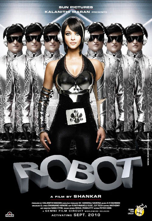Unknown poster from the movie Robot (Endhiran)