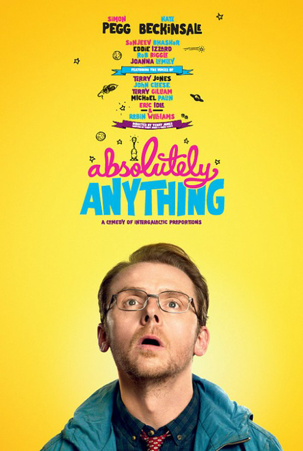 Affiche inconnue de 'Absolutely Anything'