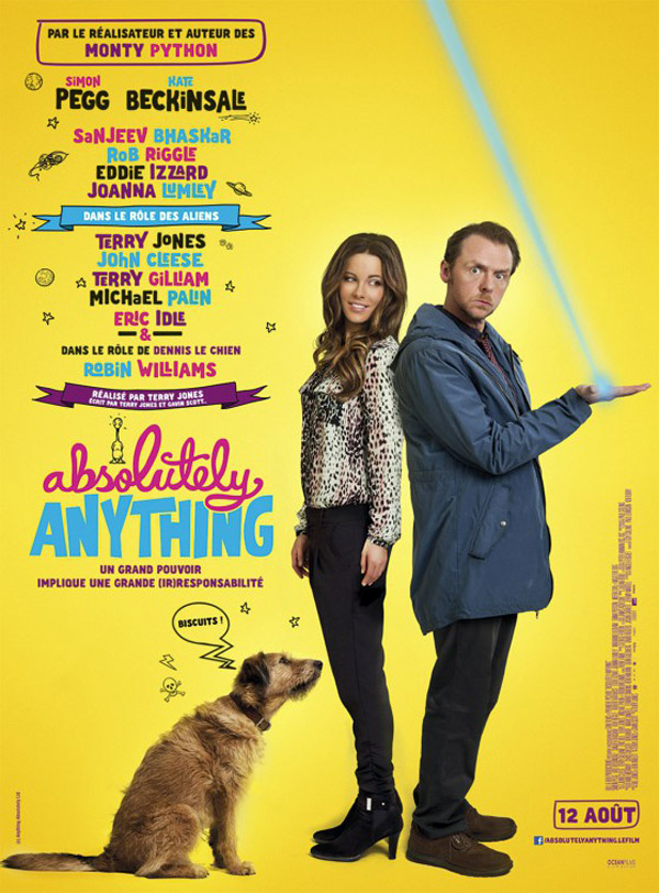 Affiche française de 'Absolutely Anything'