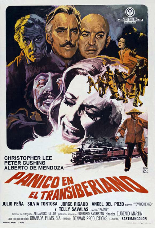 Spanish poster from the movie Horror Express