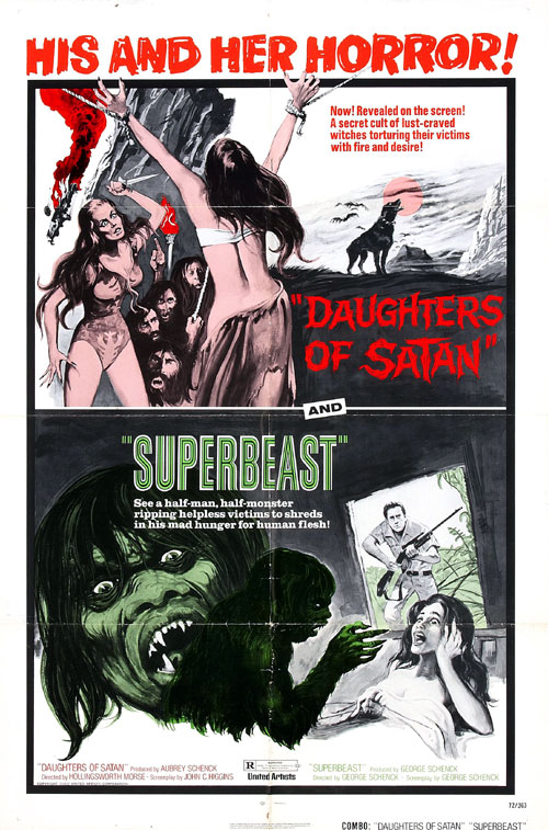 Us poster from the movie Superbeast