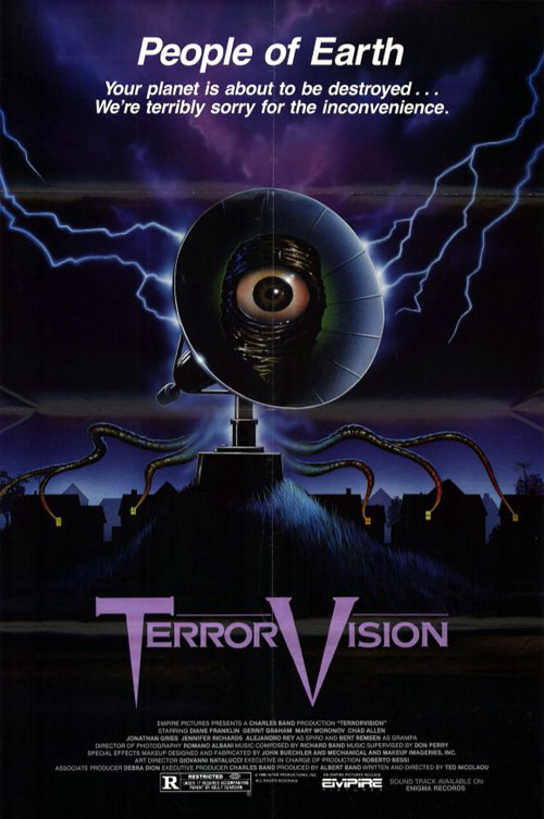 Us poster from the movie TerrorVision
