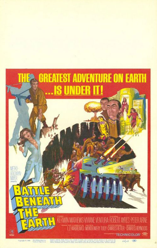 Affiche inconnue de 'Battle Beneath the Earth'