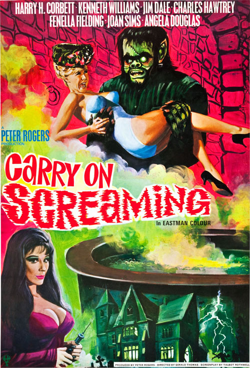 Unknown poster from the movie Carry on Screaming!