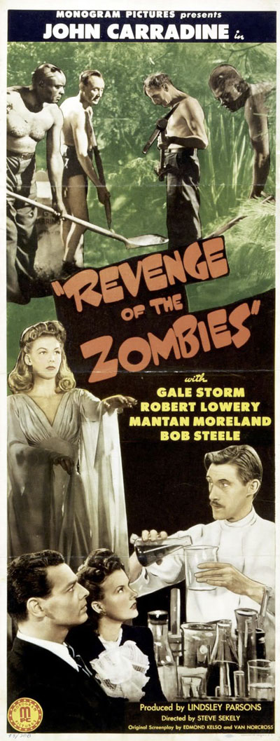 Us poster from the movie Revenge of the Zombies