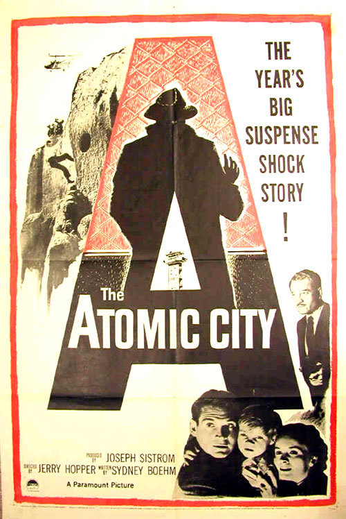 Us poster from the movie The Atomic City