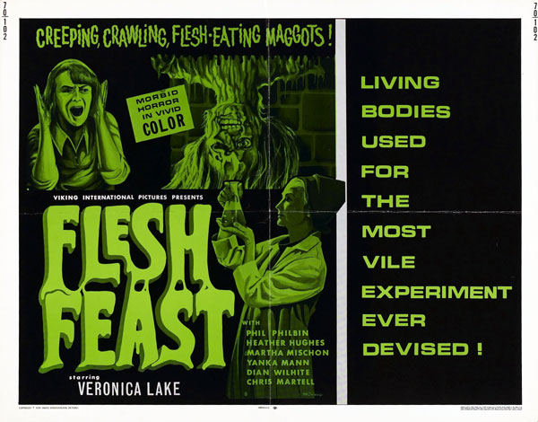 Us poster from the movie Flesh Feast