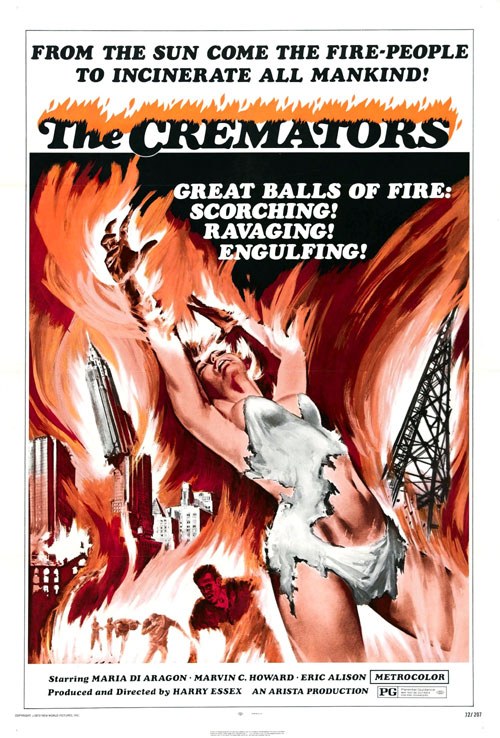 Us poster from the movie The Cremators
