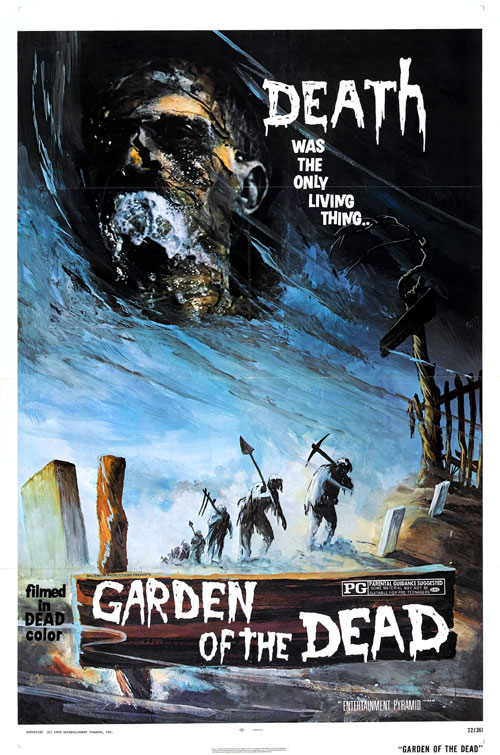 Us poster from the movie Garden of the Dead