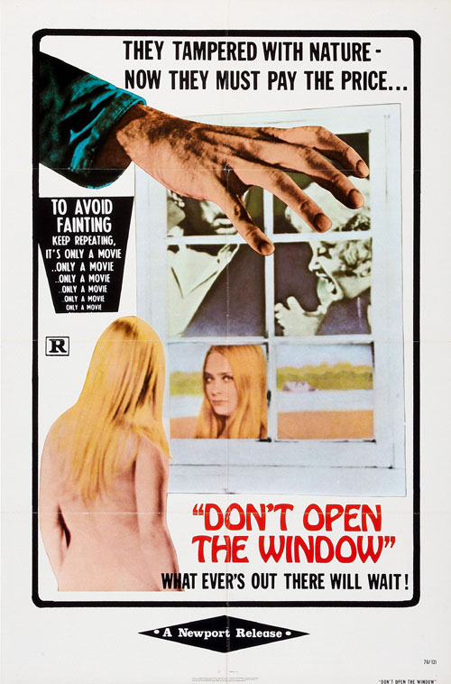 Us poster from the movie Don't Open the Window (Non si deve profanare il sonno dei morti)