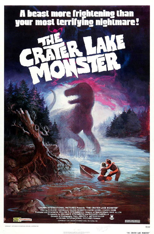 Us poster from the movie The Crater Lake Monster