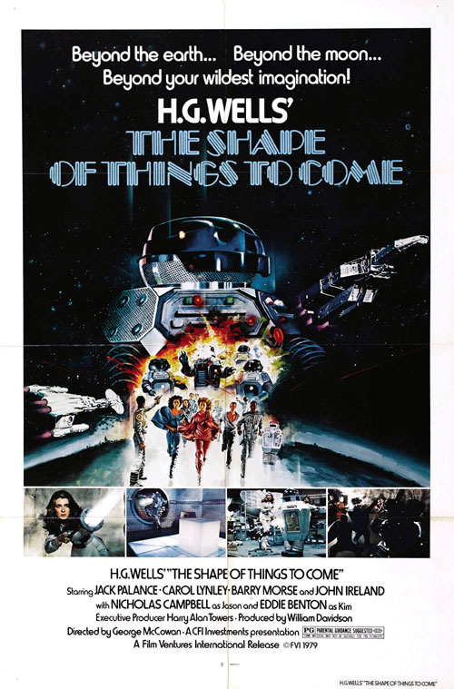 Us poster from the movie The Shape of Things to Come