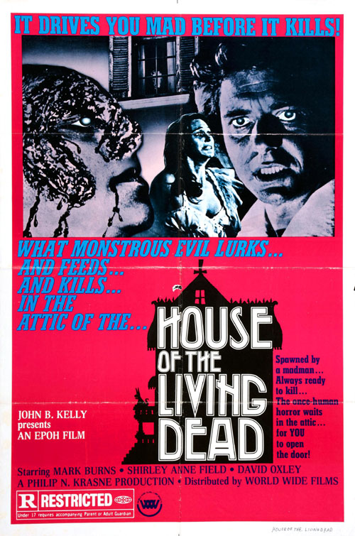 Unknown poster from the movie House of the Living Dead