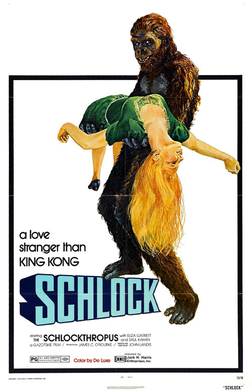 Us poster from the movie Schlock
