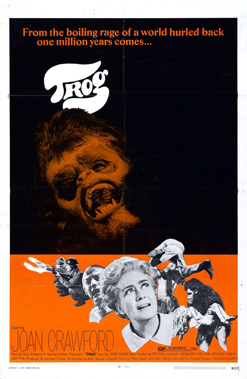 Us poster from the movie Trog