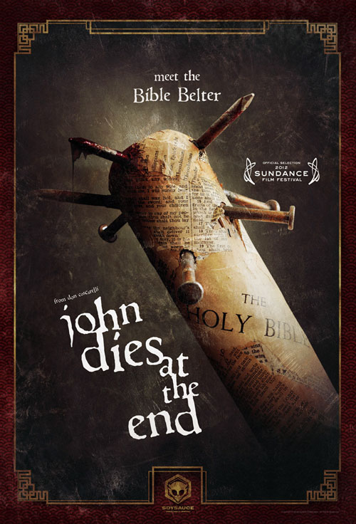 Affiche américaine de 'John Dies at the End'