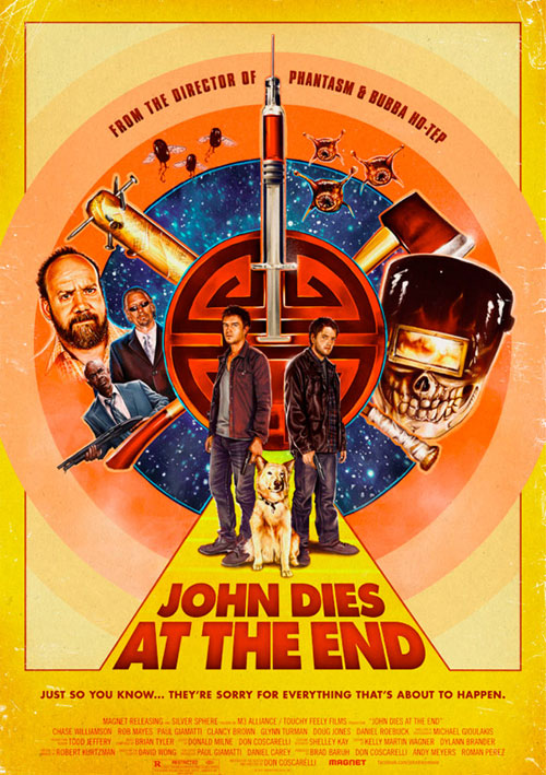 Us poster from the movie John Dies at the End