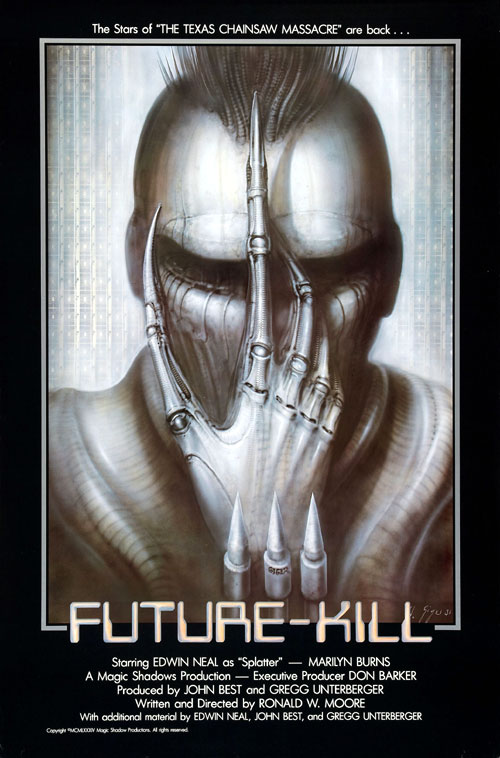 Us poster from the movie Future-Kill