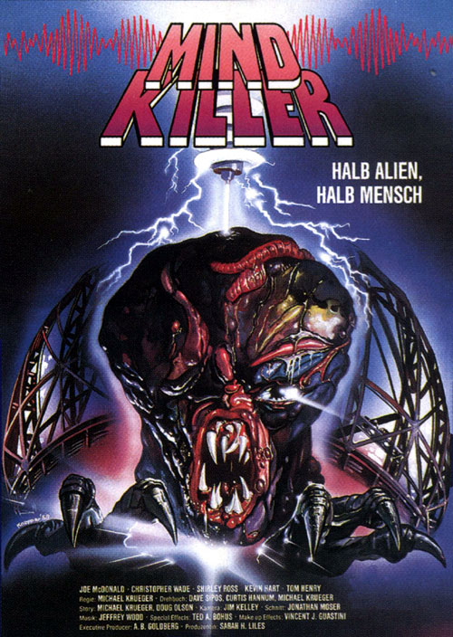 Us poster from the movie Mindkiller