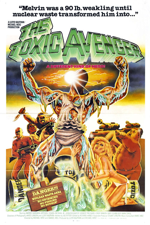 Us poster from the movie The Toxic Avenger