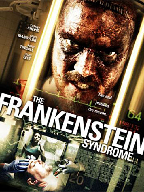 Affiche américaine de 'The Frankenstein Syndrome'