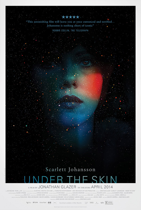 Us poster from the movie Under the Skin