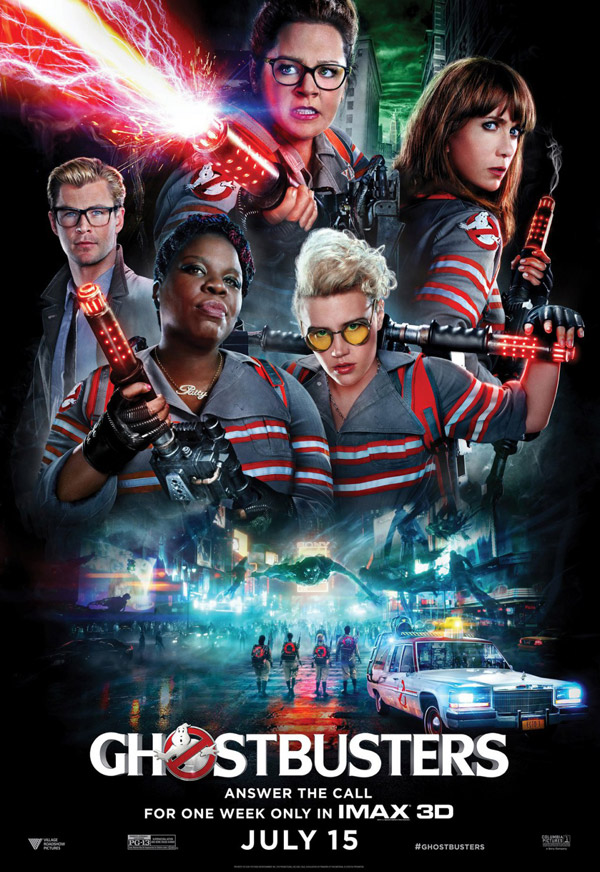 Us poster from the movie Ghostbusters