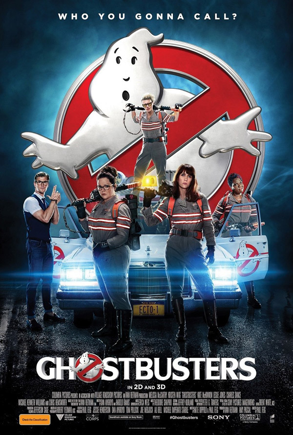 Australian poster from 'Ghostbusters'