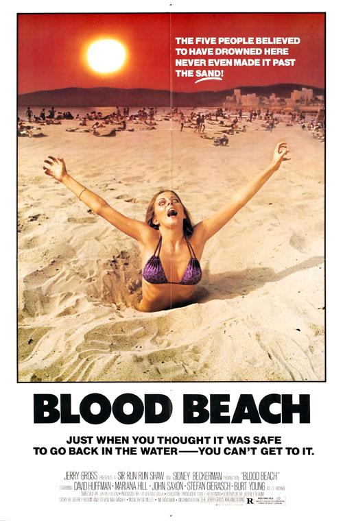 Us poster from the movie Blood Beach