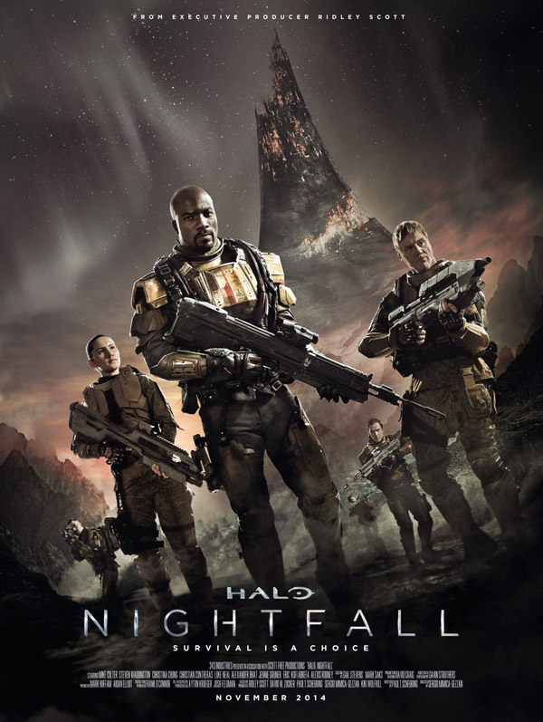 Us poster from the series Halo: Nightfall