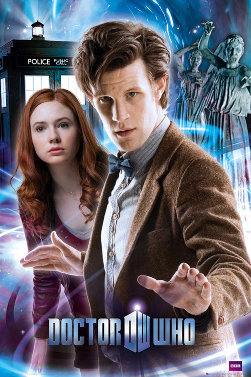 Affiche britannique de 'Doctor Who'