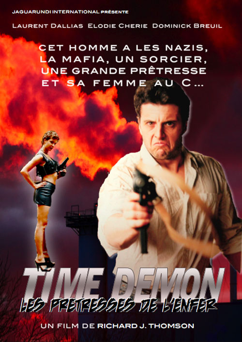 French poster from the movie Time Demon
