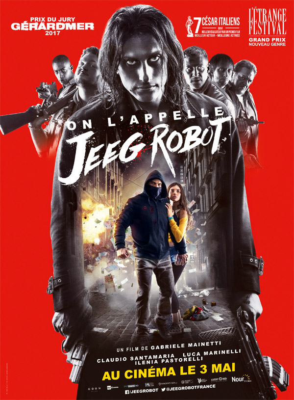 French poster from 'They Call Me Jeeg Robot'