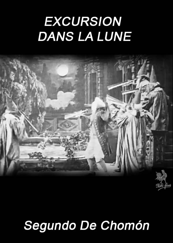 French poster from the movie Excursion to the Moon (Excursion dans la lune)