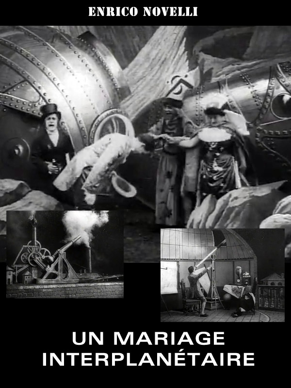 Unknown poster from the movie A Marriage in the Moon (Un matrimonio interplanetario)