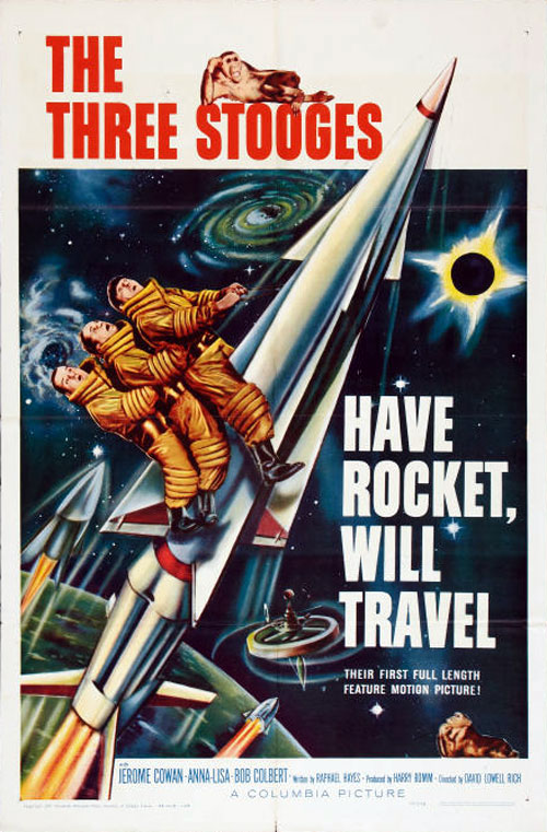 Us poster from the movie Have Rocket -- Will Travel